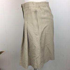Vintage Shorts - Vintage 90s Pleated Khaki Shorts